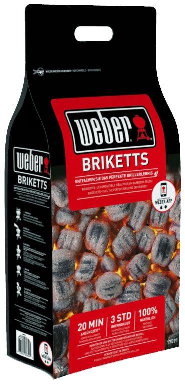 Угольные брикеты Weber, 8 кг17591