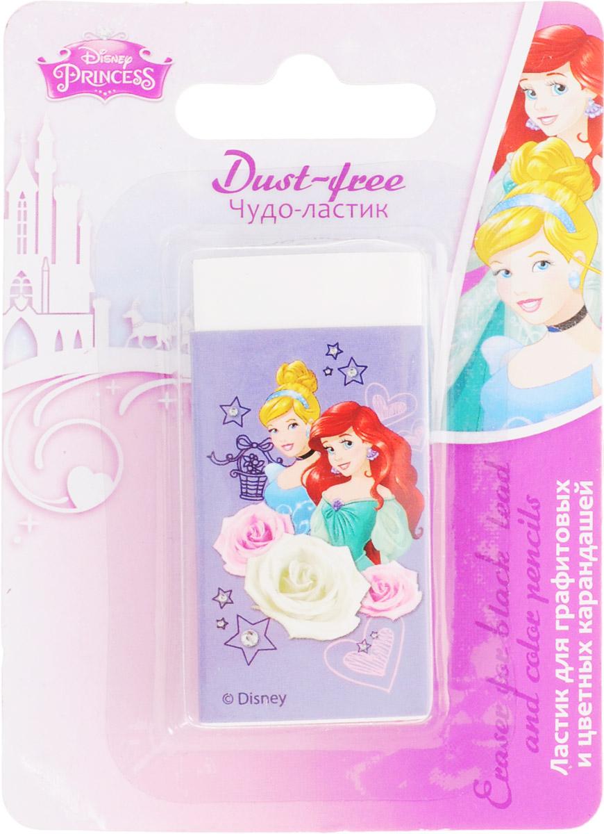 Disney Princess ЛастикPRCB-US1-215-BL1Удобный ластик Disney Princess идеально убирает следы от чернографитных и цветных карандашей и оставляет рабочую поверхность практически чистой. Ластик не царапает бумагу и не содержит вредных красителей. Рекомендуемый возраст: для детей от 3-х лет.