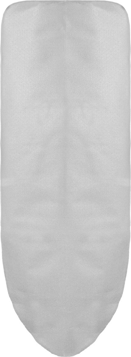 Чехол для гладильной доски Arix, металлизированный, 140 см х 50 смAP185Чехол для гладильной доски Arix изготовлен из металлизированной хлопчатобумажной ткани и снабжен мягкой поролоновой подкладкой из полиэстера. Благодаря наличию металлических нитей, чехол обеспечивает лучшую циркуляцию пара и выдерживает самые высокие температуры. Чехол быстро и легко одевается, плотно прилегает к доске, не оставляя складок.