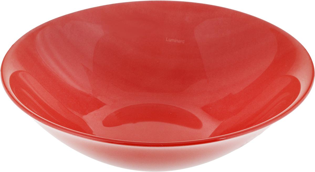 Салатник Luminarc Colorama, цвет: красный, диаметр 17 смJ7772Салатник Luminarc Colorama выполнен из высококачественного стекла. Он прекрасно впишется в интерьер вашей кухни и станет достойным дополнением к кухонному инвентарю. Диаметр салатника (по верхнему краю): 17 см.