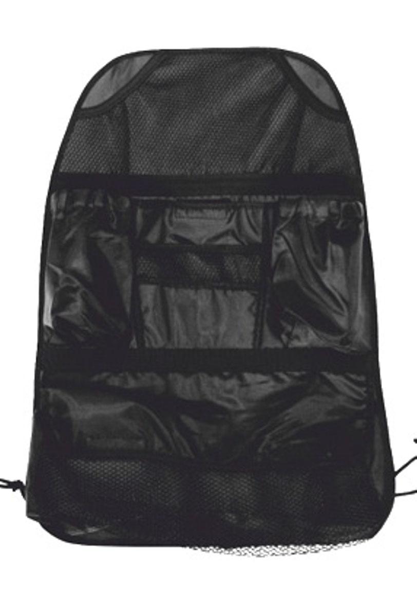 Сумка-органайзер на спинку сиденья Антей, цвет: черный. 004-И004-ИОрганайзер автомобильный сумка на автокресло - это компактный и функциональный, занимающий минимальное пространство, органайзер. Для придания жесткости внутрь вставлен картон. Легко устанавливается и снимается. Каждая мелочь находится на своем месте. Имеются сетчатые открытые карманы и закрытые карманы на текстильных липучках.