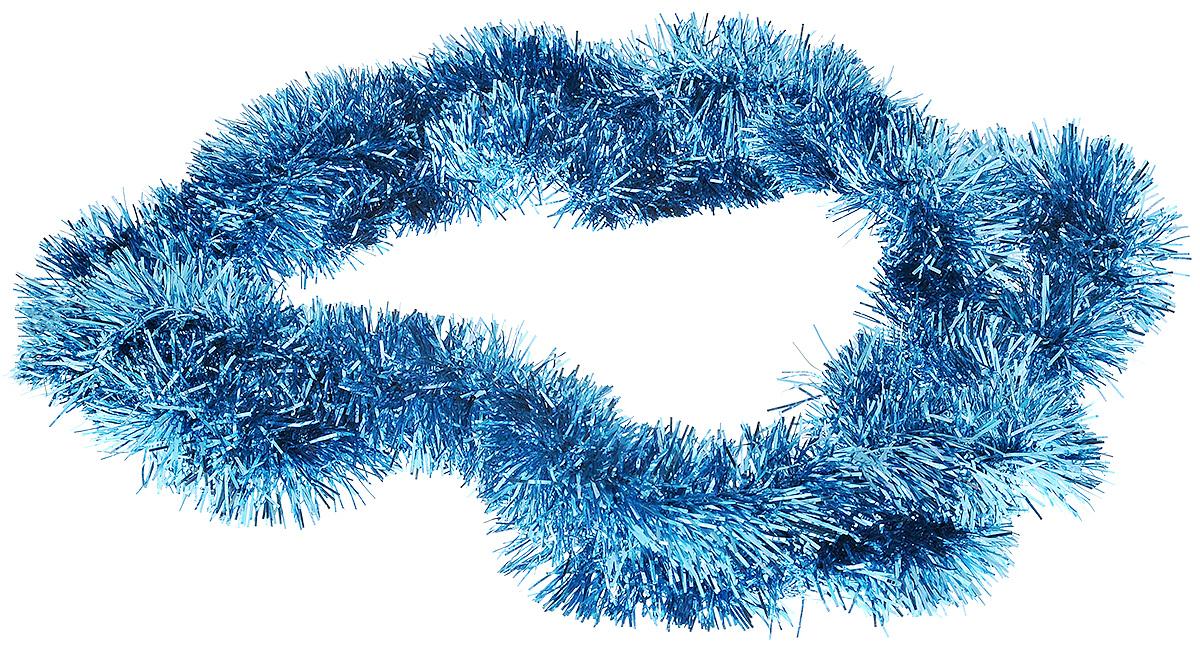 Мишура новогодняя House & Holder, цвет: голубой, диаметр 4 см, длина 200 смHT23775_голубойМишура новогодняя House & Holder поможет вам украсить свой дом к предстоящим праздникам. Мишура армирована, то есть имеет проволоку внутри и способна сохранять приданную ей форму. Новогодняя елка с таким украшением станет еще наряднее. Новогодней мишурой можно украсить все, что угодно - елку, квартиру, дачу, офис - как внутри, так и снаружи. Можно сложить новогодние поздравления, буквы и цифры, мишурой можно украсить и дополнить гирлянды, можно выделить дверные колонны, оплести дверные проемы.