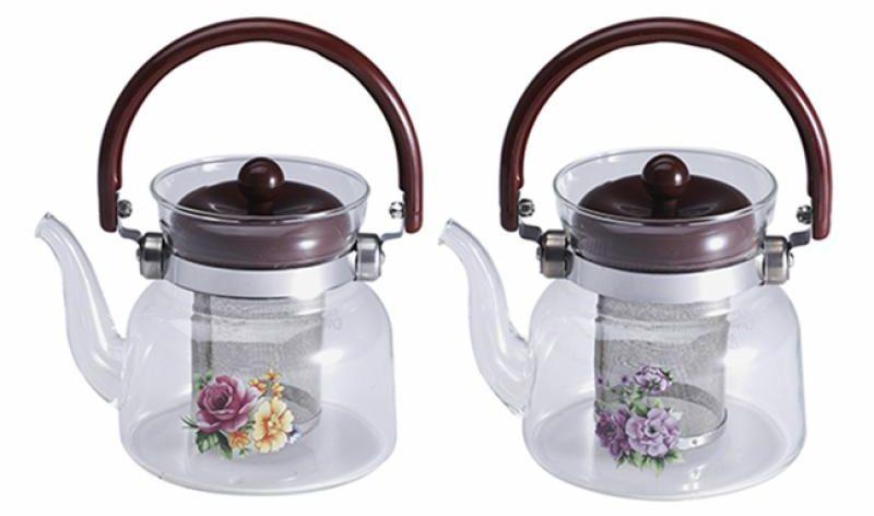 Чайник заварочный Wellberg, 800 мл, стекло6851 WB