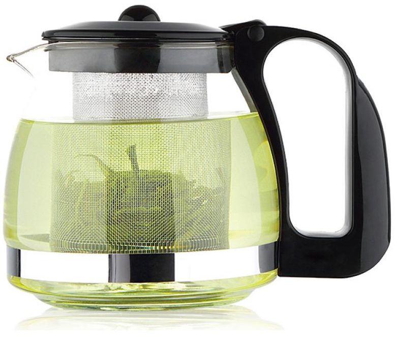 Чайник заварочный Wellberg, 1,25 л, стекло. 6879 WB6879 WB