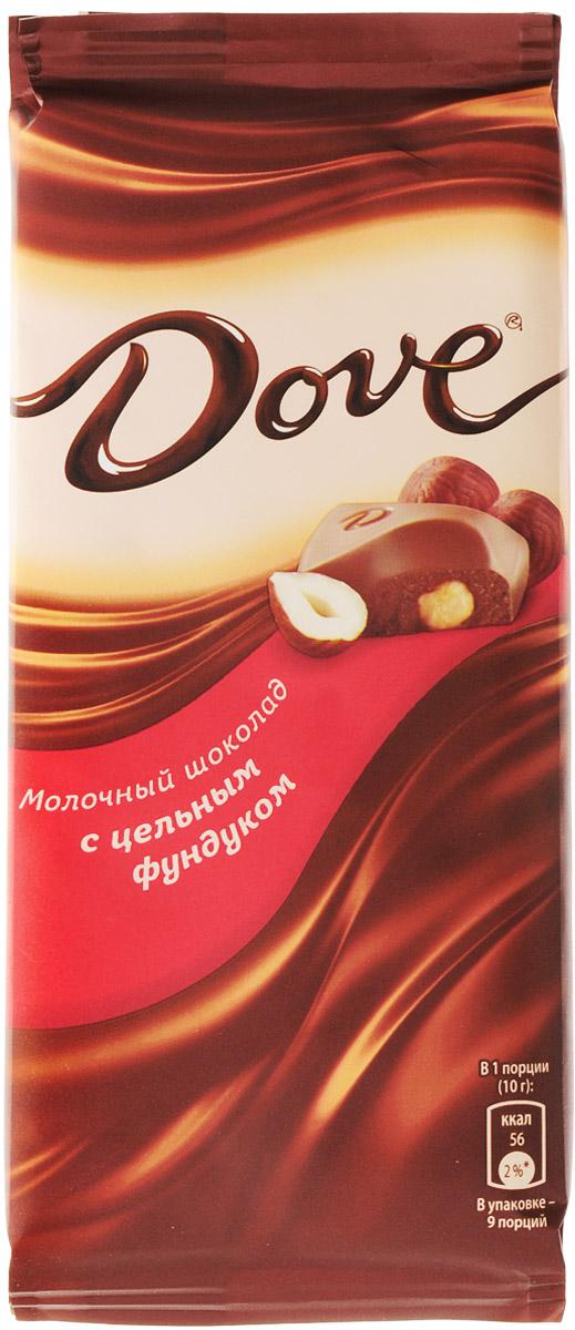 Dove молочный шоколад с цельным фундуком, 90 г79004058Молочный шоколад Dove с фундуком нежный, как шелк: такой же обволакивающий, роскошный, соблазнительный. Dove изготовлен только из высококачественных, натуральных ингредиентов. Окунитесь в шелковое удовольствие! Уважаемые клиенты! Обращаем ваше внимание, что полный перечень состава продукта представлен на дополнительном изображении.