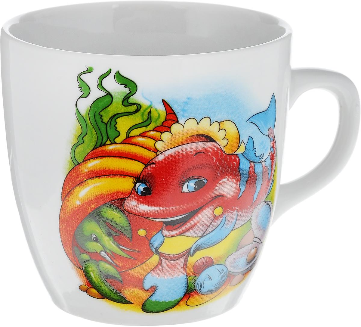 Кружка Фарфор Вербилок Тюльпан. Азбука, цвет: белый, красный, зеленый, 230 мл39085050_хорек, рыбаКружка Фарфор Вербилок Тюльпан. Азбука способна скрасить любое чаепитие. Изделие выполнено из высококачественного фарфора. Посуда из такого материала позволяет сохранить истинный вкус напитка, а также помогает ему дольше оставаться теплым. Диаметр по верхнему краю: 8 см. Высота кружки: 7,5 см.