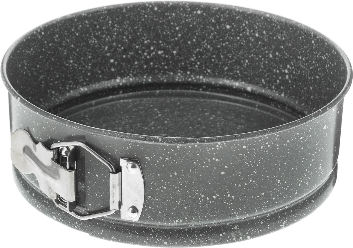 Форма для выпечки Regent Inox, круглая, с антипригарным покрытием, диаметр 20 см93-CS-EA-25-02Круглая форма для выпечки Regent Inox выполнена из стали с антипригарным покрытием, что предотвращает прилипание пищи к стенкам. Форма имеет разъемный механизм, благодаря чему готовое блюдо очень легко достать из формы. Причем блюдо можно не перекладывать в сервировочную тарелку, а сразу подавать на стол. Такая форма значительно экономит время по сравнению с аналогичными формами для выпечки. С формой для выпечки Regent Inox готовить любимые блюда станет еще проще. Подходит для использования в духовом шкафу. Не предназначена для СВЧ-печей. Диаметр формы: 20 см. Высота стенки: 7 см.
