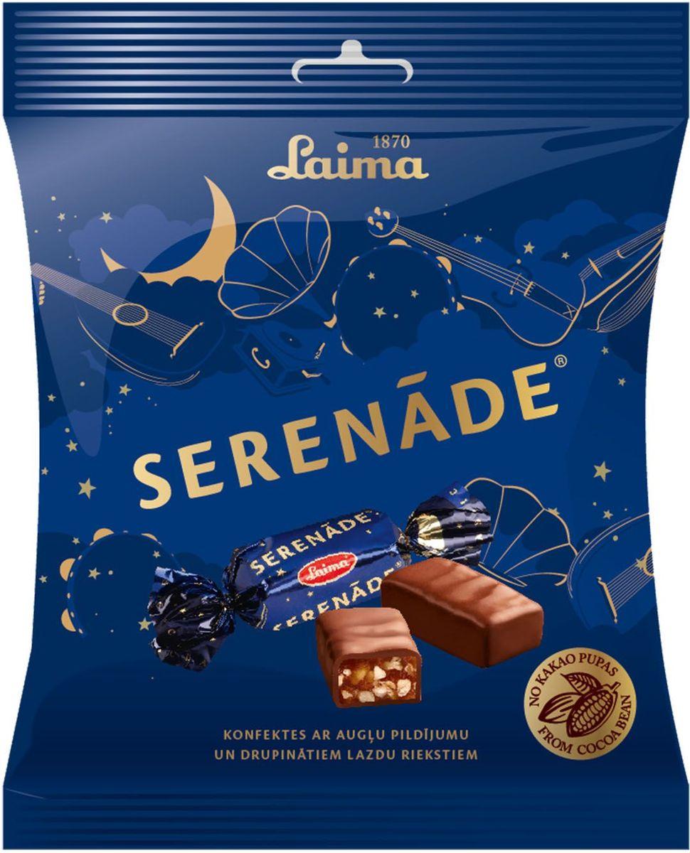 Laima Серенада конфеты с фруктовым желе, абрикосами и фундуком, 160 гP110509423Конфеты с фруктовым желе, абрикосами и фундуком Серенада