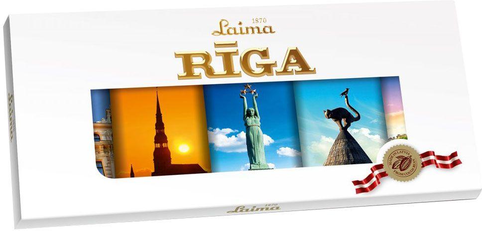 "Laima ""Рига Люкс"" темный шоколад, 20 г х 5 шт"
