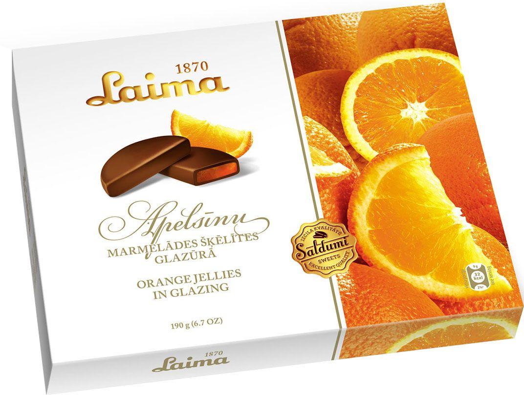 Laima Мармелад в шоколаде, 190 г