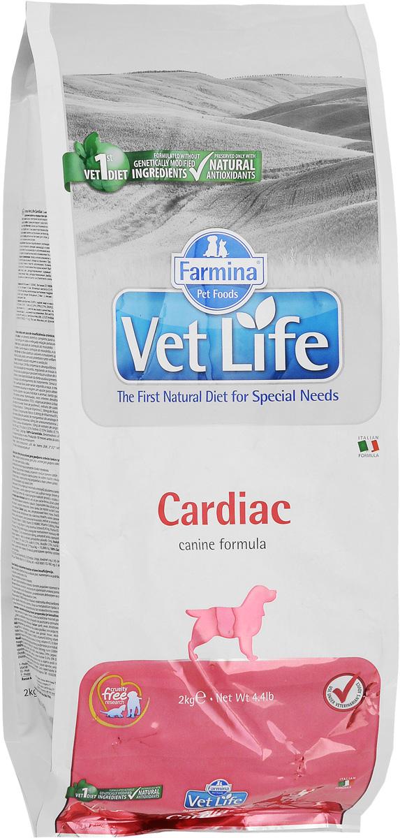 Корм сухой Farmina Vet Life для собак, для поддержания работы сердца при хронической сердечной недостаточности, диетический, 2 кг30344Farmina Vet Life - это диетическое питание для собак, предназначенное для поддержания работы сердца при хронической сердечной недостаточности. Диета содержит низкий уровень натрия и оптимальное соотношение калия/натрия. Корм способствует оптимальной работе кишечника. Входящий в состав таурин регулирует сократительную способность миокарда, L-карнитин повышает устойчивость к физическим нагрузкам, Омега-3 оказывает противовоспалительное воздействие. Товар сертифицирован.