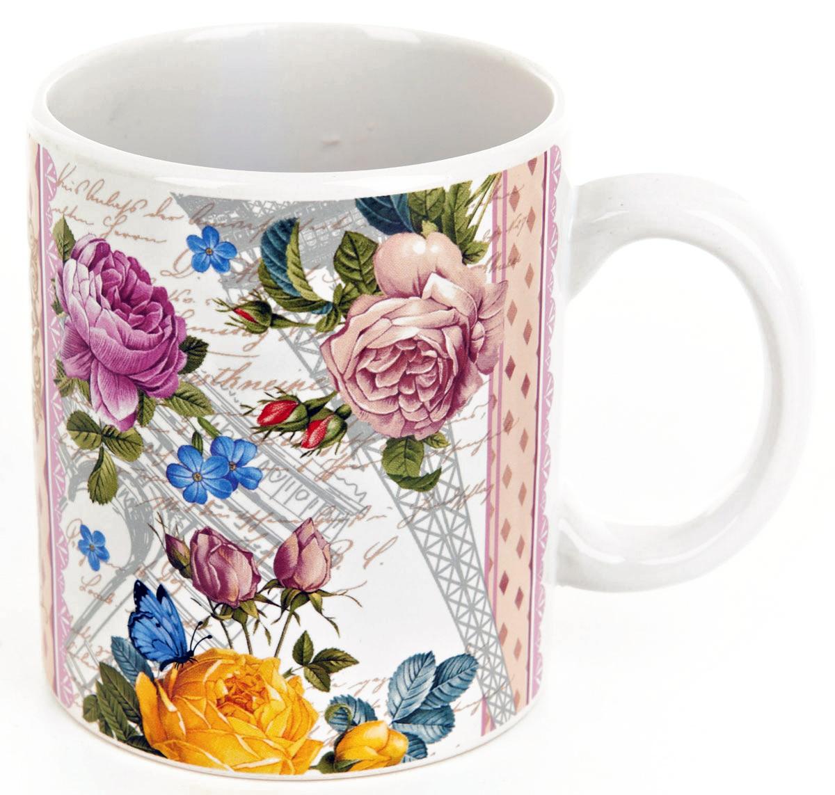 Кружка ENS Group Лето в Европе, 400 мл. 06600870660087Кружка Лето в Европе изготовлена из высококачественной керамики. Изделие оформлено изысканным рисунком. Такая кружка прекрасно оформит стол к чаепитию и станет его неизменным атрибутом. Можно мыть в посудомоечной машине.