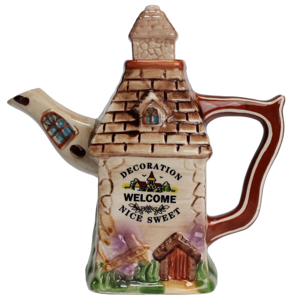 Чайник заварочный Домик, 300 мл. 824680824680Этот великолепный чайник станет настоящим украшением любого стола. Послужит отличный подарком! Объем чайника 300 мл
