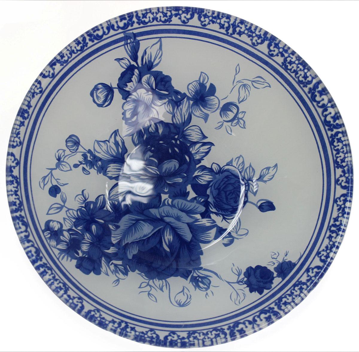 Салатник Vetta Гжельские мотивы, 500 мл. 830012830012Салатник Vetta Гжельские мотивы для порционной сервировки салатов и десертов. Подойдет для украшения праздничного стола, так и для повседневного использования.