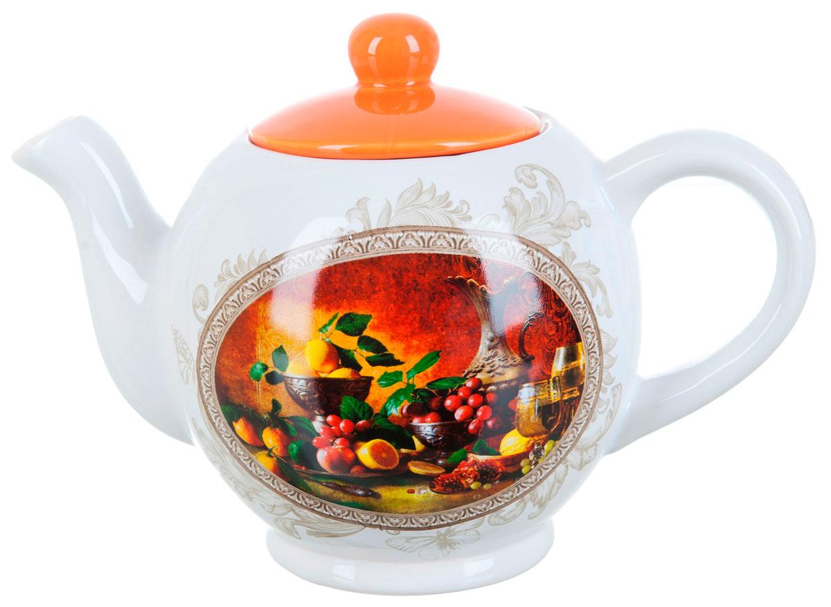 Чайник заварочный ENS Group Севилья, 1,1 лL2520555Заварочный чайник Севилья, изготовленный из высококачественной керамики, прекрасно впишется в интерьер вашей кухни и станет достойным дополнением к кухонному инвентарю. Изделие снабжено эргономичной крышкой и удобной ручкой. Такой чайник не только украсит ваш кухонный стол и подчеркнет прекрасный вкус хозяйки, но и станет отличным подарком. Можно мыть в посудомоечной машине.