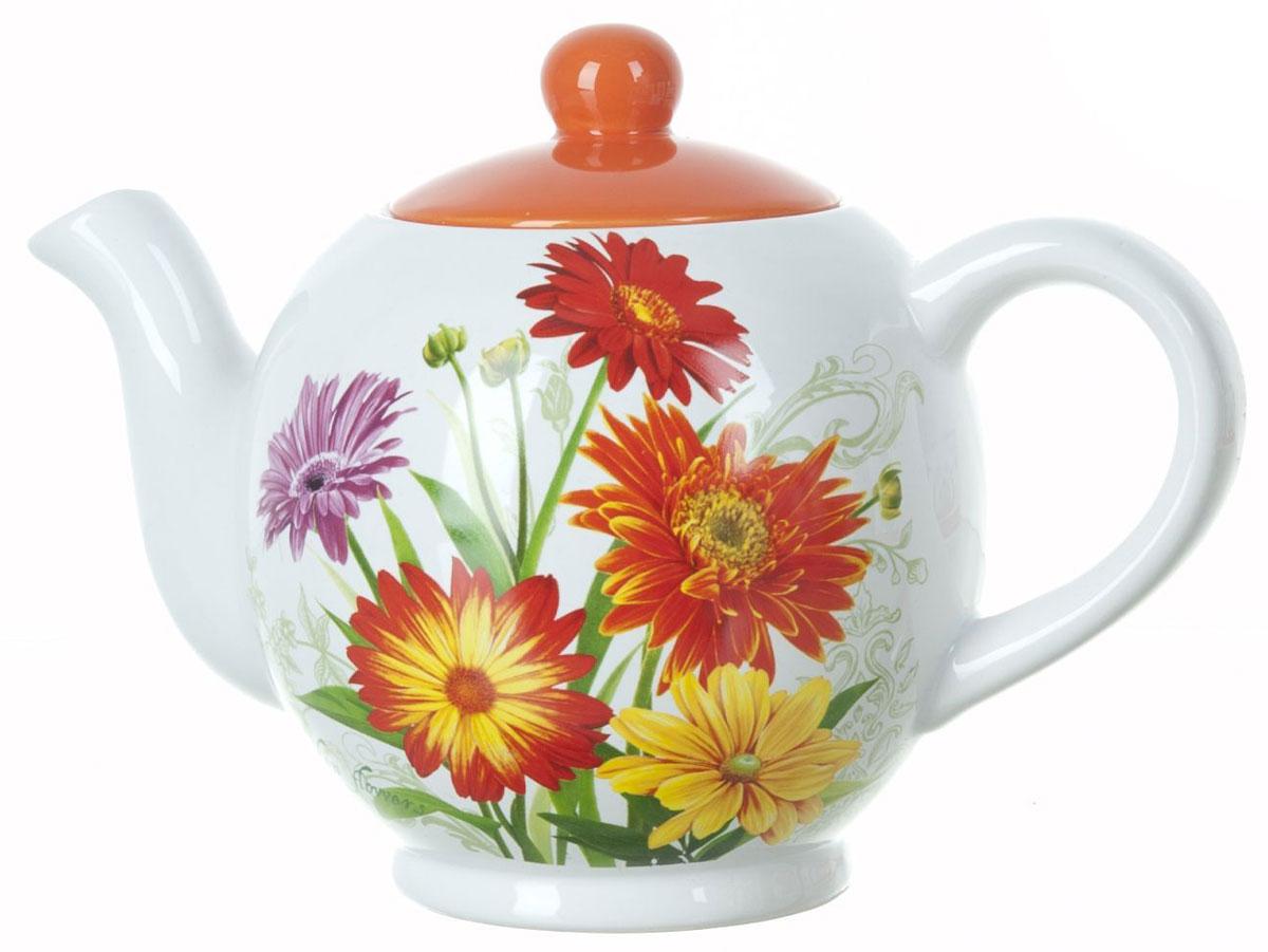 Чайник заварочный ENS Group Золотая Серена, 1,1 лL2520628Заварочный чайник Золотая Серена, изготовленный из высококачественной керамики, прекрасно впишется в интерьер вашей кухни и станет достойным дополнением к кухонному инвентарю. Изделие снабжено эргономичной крышкой и удобной ручкой. Такой чайник не только украсит ваш кухонный стол и подчеркнет прекрасный вкус хозяйки, но и станет отличным подарком. Можно мыть в посудомоечной машине.
