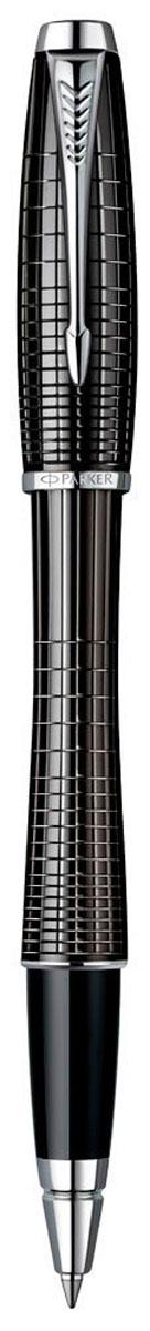 Parker Ручка-роллер Urban Premium Ebony Metal ChiselledPARKER-S0911490Ручка-роллер Parker Urban Premium Ebony Metal Chiselled - идеальный инструмент для письма. Материал ручки - ювелирная латунь с покрытием лаком черного цвета, в отделке применяется хромирование. В ручке используются стандартные стержни-роллеры Parker, в комплект поставки входит один стержень черного цвета. Данный пишущий инструмент поставляется в фирменной подарочной коробке, что делает его превосходным подарком. В комплекте также входит гарантийный талон с международной гарантией на 2 года. Произведено во Франции.