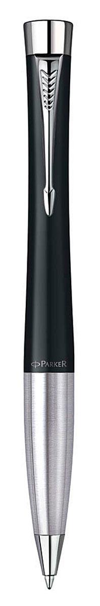 Parker Ручка шариковая Urban Muted Black CT цвет чернил синийPARKER-S0767030Шариковая ручка Parker Urban Muted Black CT изготовлена из ювелирной латуни с покрытием черным матовым лаком, в отделке применяется хромирование. В ручке используются стандартные шариковые стержни Parker, в комплект поставки входит один стержень синего цвета. Ручка имеет металлическую зону захвата и поворотный механизм. Средняя толщина линии. Шариковая ручка упакована в коробку с логотипом компании Parker. У изделия имеется международный гарантийный талон. Эксклюзивная ручка Parker Urban Muted Black CT подчеркнет стиль и элегантность ее владельца и станет превосходным подарком ценителю изящества и роскоши. Ручка - это не просто пишущий инструмент, это - часть имиджа, наглядно демонстрирующая статус, характер и образ жизни ее владельца.