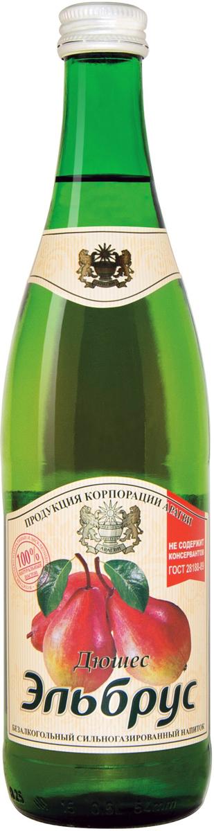Эльбрус Дюшес напиток безалкогольный среднегазированный 0,5 л (стекло) 0014000000010