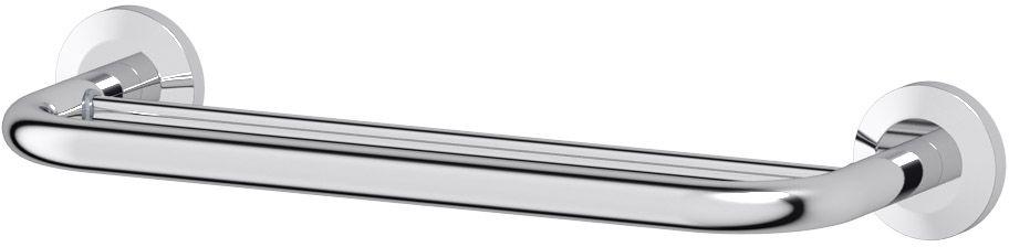 Штанга для полотенца FBS Standard, двойная, 40 см, цвет: хром. STA 035STA 035Аксессуары торговой марки FBS производятся на заводе ELLUX Gluck s.r.o., имеющем 20-летний опыт работы. Предприятие расположено в Злинском крае, исторически знаменитом своим промышленным потенциалом. Компоненты из всемирно известного богемского хрусталя выгодно дополняют серии аксессуаров. Широкий ассортимент, разнообразие форм, высочайшее качество исполнения и техническое?совершенство продукции отвечают самым высоким требованиям. Продукция FBS представлена на российском рынке уже более 10 лет и за это время успела завоевать заслуженную популярность у покупателей, отдающих предпочтение дорогой и качественной продукции.