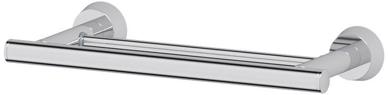 Штанга для полотенца FBS Vizovice, двойная, 30 см, цвет: хром. VIZ 034VIZ 034Аксессуары торговой марки FBS производятся на заводе ELLUX Gluck s.r.o., имеющем 20-летний опыт работы. Предприятие расположено в Злинском крае, исторически знаменитом своим промышленным потенциалом. Компоненты из всемирно известного богемского хрусталя выгодно дополняют серии аксессуаров. Широкий ассортимент, разнообразие форм, высочайшее качество исполнения и техническое?совершенство продукции отвечают самым высоким требованиям. Продукция FBS представлена на российском рынке уже более 10 лет и за это время успела завоевать заслуженную популярность у покупателей, отдающих предпочтение дорогой и качественной продукции.