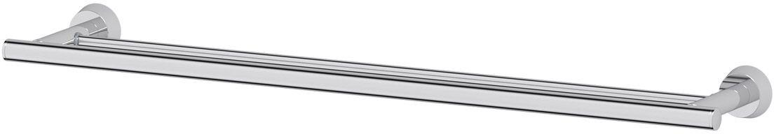 Штанга для полотенца FBS Vizovice, двойная, 70 см, цвет: хром. VIZ 038VIZ 038Аксессуары торговой марки FBS производятся на заводе ELLUX Gluck s.r.o., имеющем 20-летний опыт работы. Предприятие расположено в Злинском крае, исторически знаменитом своим промышленным потенциалом. Компоненты из всемирно известного богемского хрусталя выгодно дополняют серии аксессуаров. Широкий ассортимент, разнообразие форм, высочайшее качество исполнения и техническое?совершенство продукции отвечают самым высоким требованиям. Продукция FBS представлена на российском рынке уже более 10 лет и за это время успела завоевать заслуженную популярность у покупателей, отдающих предпочтение дорогой и качественной продукции.