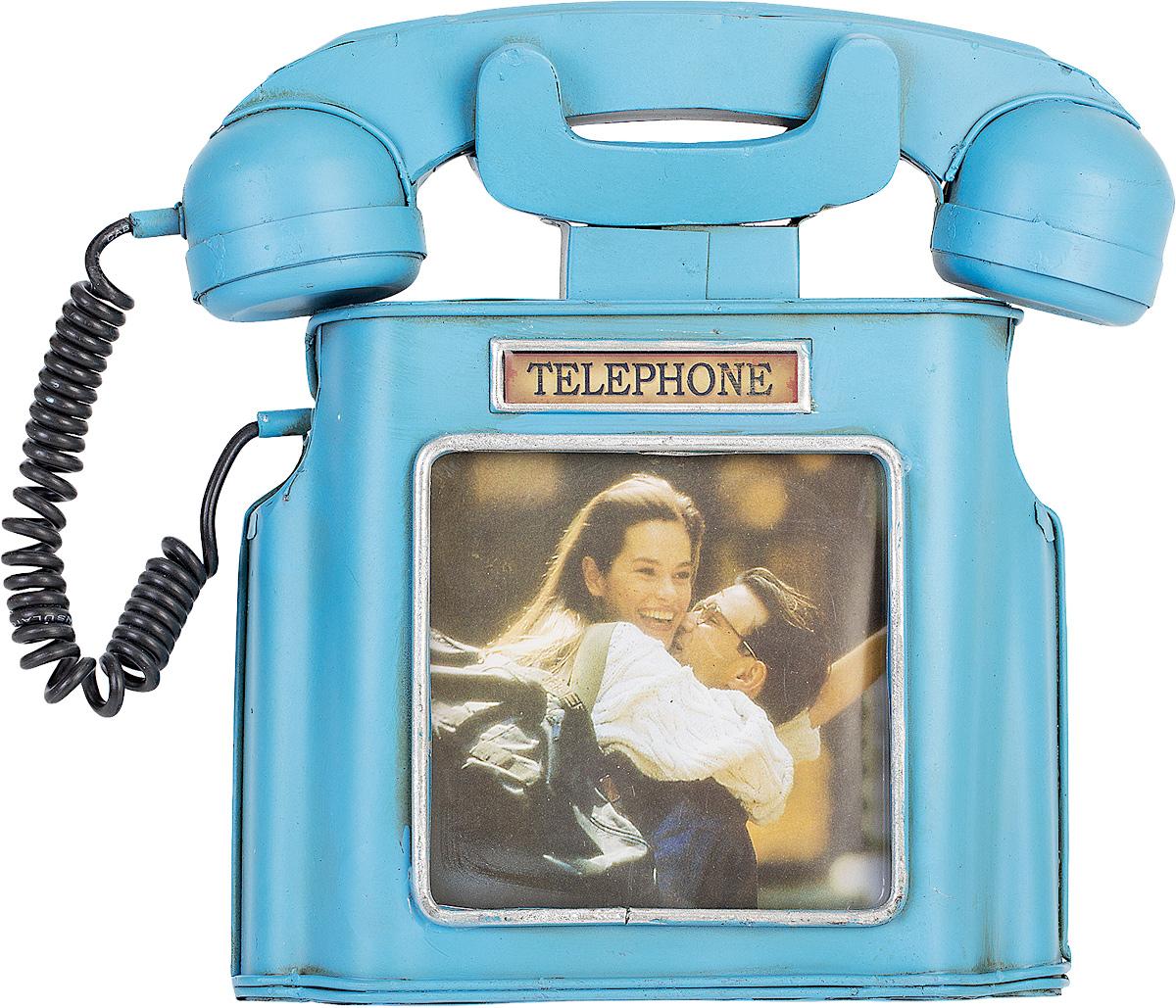 Фоторамка Platinum Телефон, 10 х 10 см1404B-1348Фоторамка Platinum Телефон выполнена в классическом стиле из высококачественного металла. Такая фоторамка поможет вам оригинально и стильно дополнить интерьер помещения, а также позволит сохранить память о дорогих вам людях и интересных событиях вашей жизни.