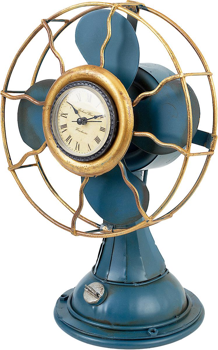 Часы Platinum Вентилятор, цвет: синий. 1404B-13581404B-1358