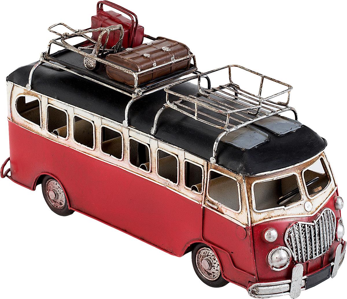 Модель Platinum Автобус. 1404E-42391404E-4239Модель Platinum Автобус, выполненная из металла, станет оригинальным украшением вашего интерьера. Вы можете поставить модель автобуса в любом месте, где она будет удачно смотреться. Качество исполнения, точные детали и оригинальный дизайн выделяют эту модель среди ряда подобных. Модель займет достойное место в вашей коллекции, а также приятно удивит получателя в качестве стильного сувенира.