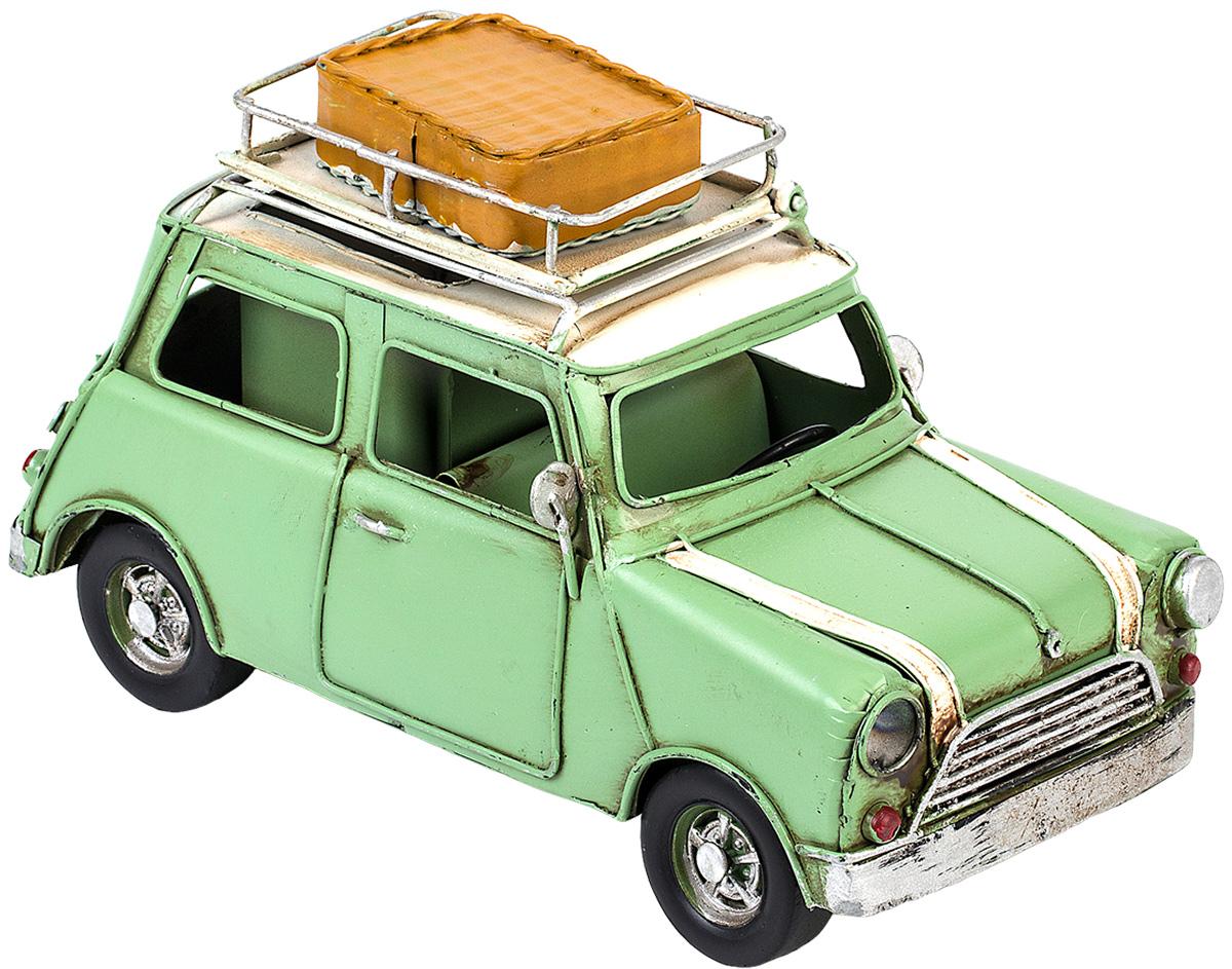Модель Platinum Автомобиль, с фоторамкой и подставкой для ручек. 1404E-43571404E-4357Модель Platinum Автомобиль, выполненная из металла, станет оригинальным украшением интерьера. Вы можете поставить модель ретро- автомобиля в любом месте, где она будет удачно смотреться. Изделие дополнено подставкой для ручек и фоторамкой, куда вы можете вставить вашу любимую фотографию. Качество исполнения, точные детали и оригинальный дизайн выделяют эту модель среди ряда подобных. Модель займет достойное место в вашей коллекции, а также приятно удивит получателя в качестве стильного сувенира.