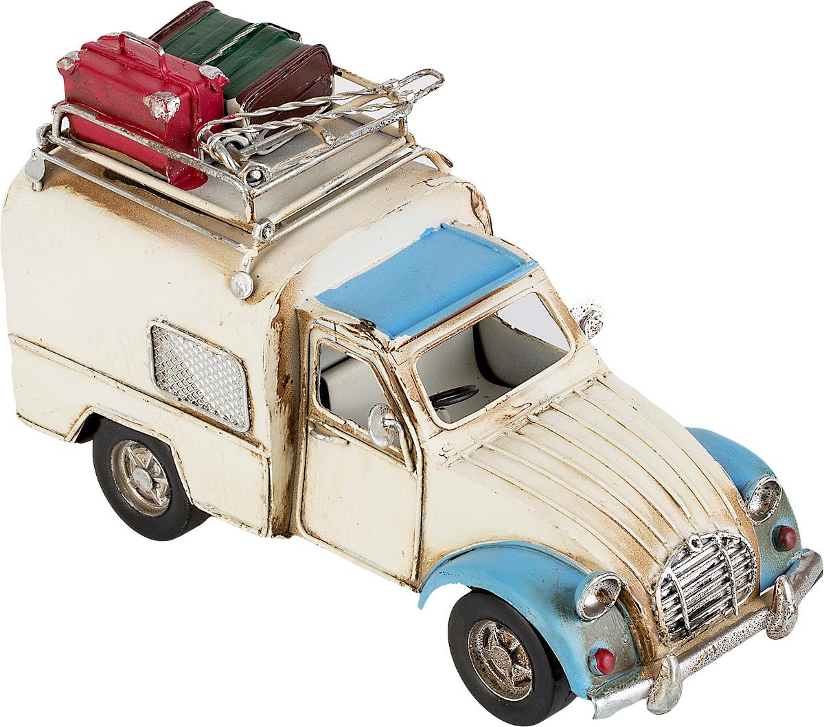 Модель Ретро Platinum Автомобиль, цвет: белый с синим, с фоторамкой и подставкой для ручек. 1404E-43641404E-4364