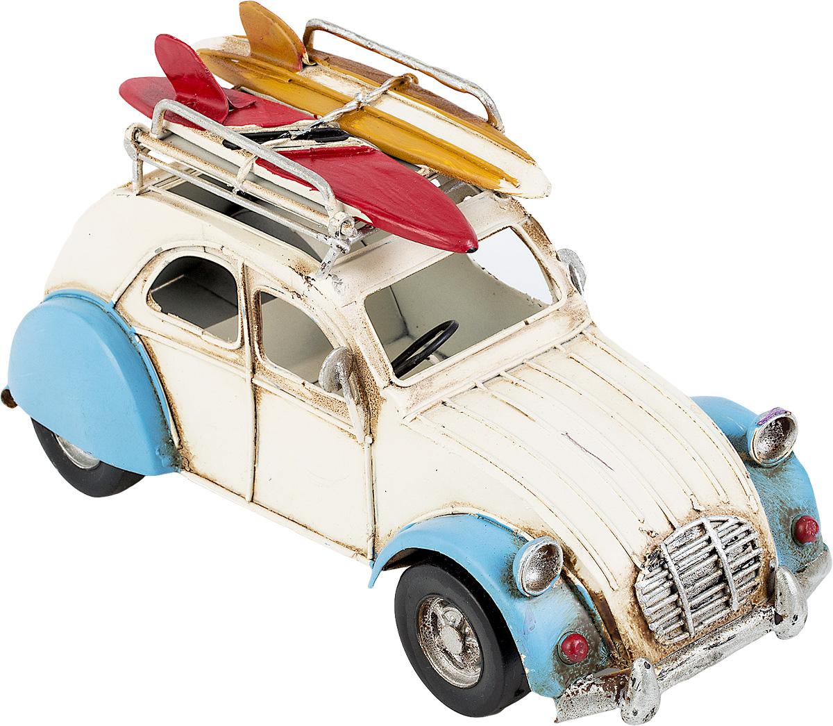 Модель Ретро Platinum Автомобиль, цвет: белый с синим, с фоторамкой и подставкой для ручек. 1404E-43661404E-4366