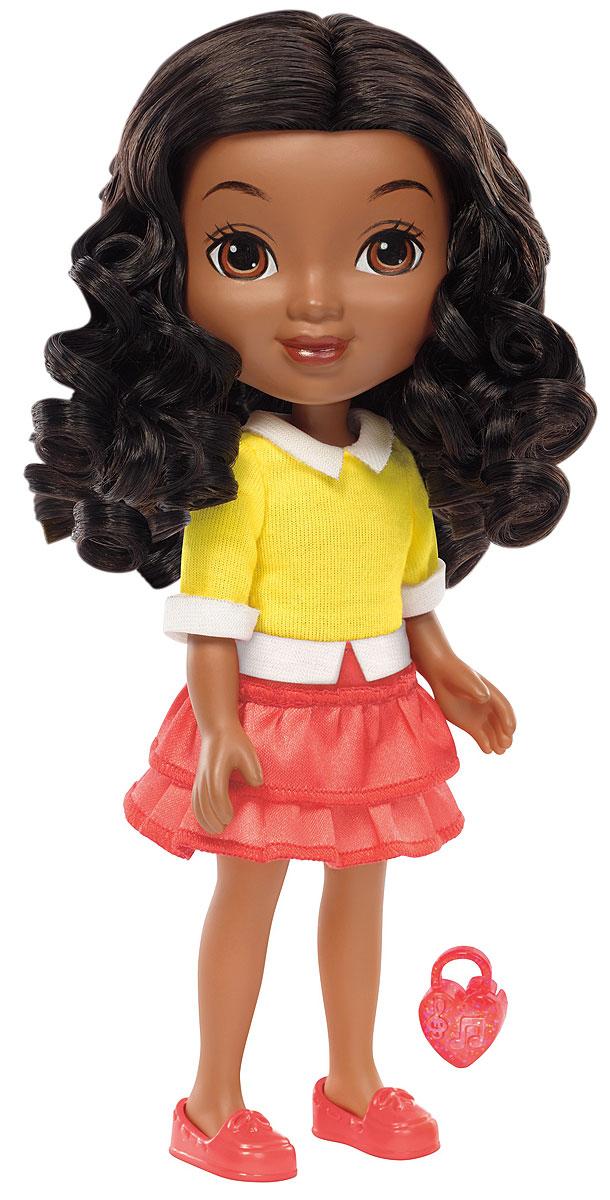 Dora and Friends Кукла ЭммаBHT40_BLW35Любое приключение веселее, когда вы вместе с друзьями! А Даша и ее друзья не могут обойтись без вас! Знакомьтесь с ними, исследуйте их город и присоединяйтесь к приключениям этой веселой компании! Кукла Dora and Friends Эмма одета в наряд, вдохновленный мультсериалом Даша и ее друзья: приключения в городе. У куклы мягкие волосы, гибкие руки и ноги. Присоединяйтесь к новым приключениям Даши и ее друзей!