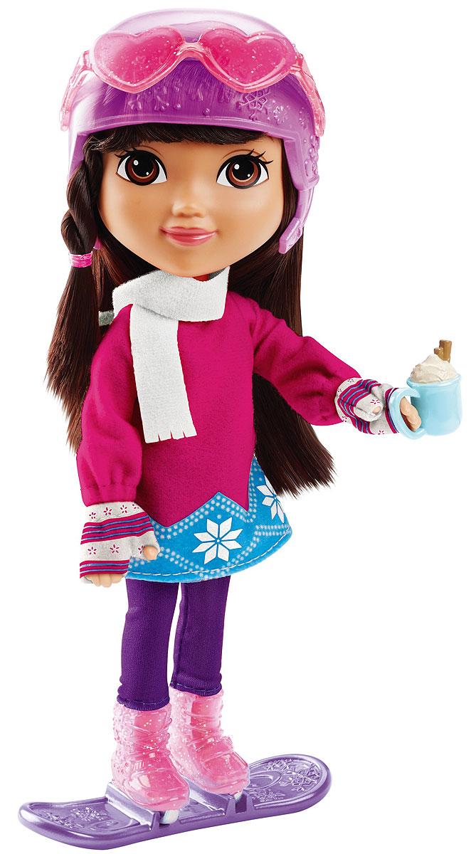 Dora And Friends Кукла Dora Loves WinterCGN26_CGV56Fisher-Price Nickelodeon Даша и ее друзья Коллекция кукол и аксессуаров. Куклы Даши и ее друзей с мягкими волосами и гибкими руками и ногами! Любое приключение веселее, когда ты вместе с друзьями! И теперь ты можешь присоединиться к Даше и ее друзьям в путешествиях по необычным и волшебным местам их города, Плайя Верде! У каждой куклы (20 см) — мягкие волосы и тематические аксессуары!
