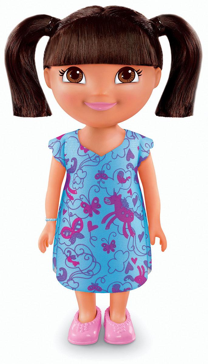 Dora The Explorer Кукла Slumber PartyT4751_Y0338Fisher-Price Nickelodeon Даша-путешественница. Коллекция Приключения каждый день. Кукла Даша для идеальных приключений каждый день! Каждая кукла одета в милый тематический наряд! Продаются отдельно. Для детей старше трех лет.