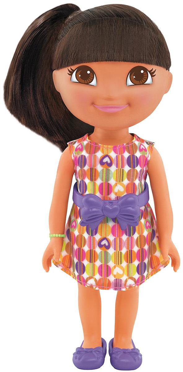 Dora The Explorer Кукла Birthday FiestaT4751_Y8331Fisher-Price Nickelodeon Даша-путешественница. Коллекция Приключения каждый день. Кукла Даша для идеальных приключений каждый день! Каждая кукла одета в милый тематический наряд! Продаются отдельно. Для детей старше трех лет.