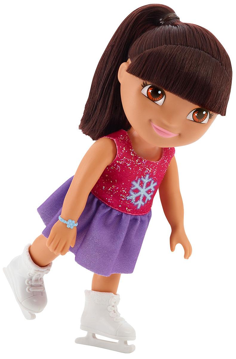 Dora The Explorer Кукла Даша на каткеT4751_BCL63Fisher-Price Nickelodeon Даша-путешественница. Коллекция Приключения каждый день. Кукла Даша для идеальных приключений каждый день! Каждая кукла одета в милый тематический наряд! Продаются отдельно. Для детей старше трех лет.