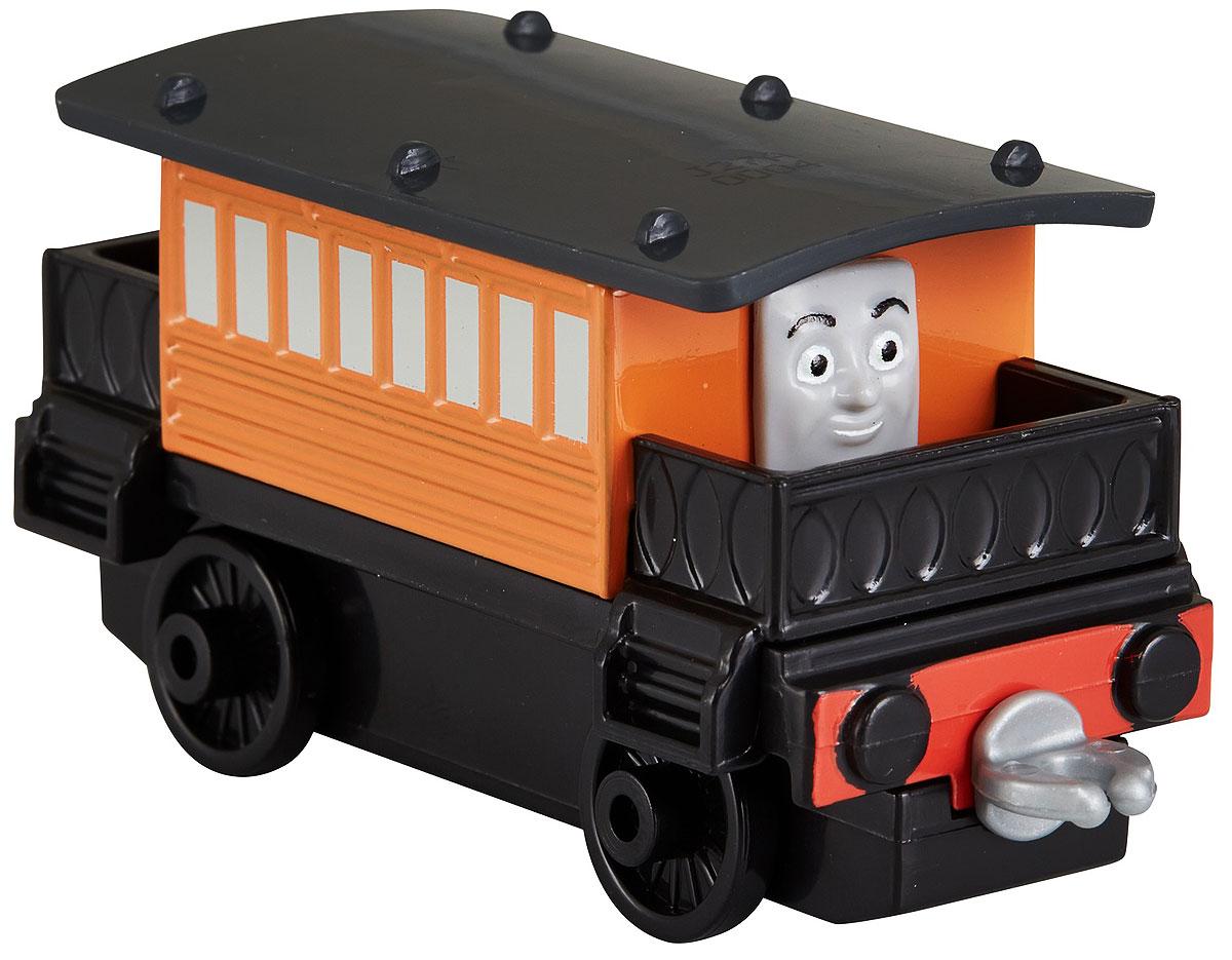 Thomas & Friends Паровозик ГенриеттаDWM28_DXT28Коллекция надежных литых поездов Томас и его друзья с пластиковыми креплениями, чтобы соединять с другими поездами или тендерами из серии Приключения Томаса и его друзей. Идеально для использования с поездами, трассами и наборами Приключения Томаса и его друзей (продаются отдельно, наличие не гарантировано). Помогает развивать крупную моторику и восприятие, развивает воображение.
