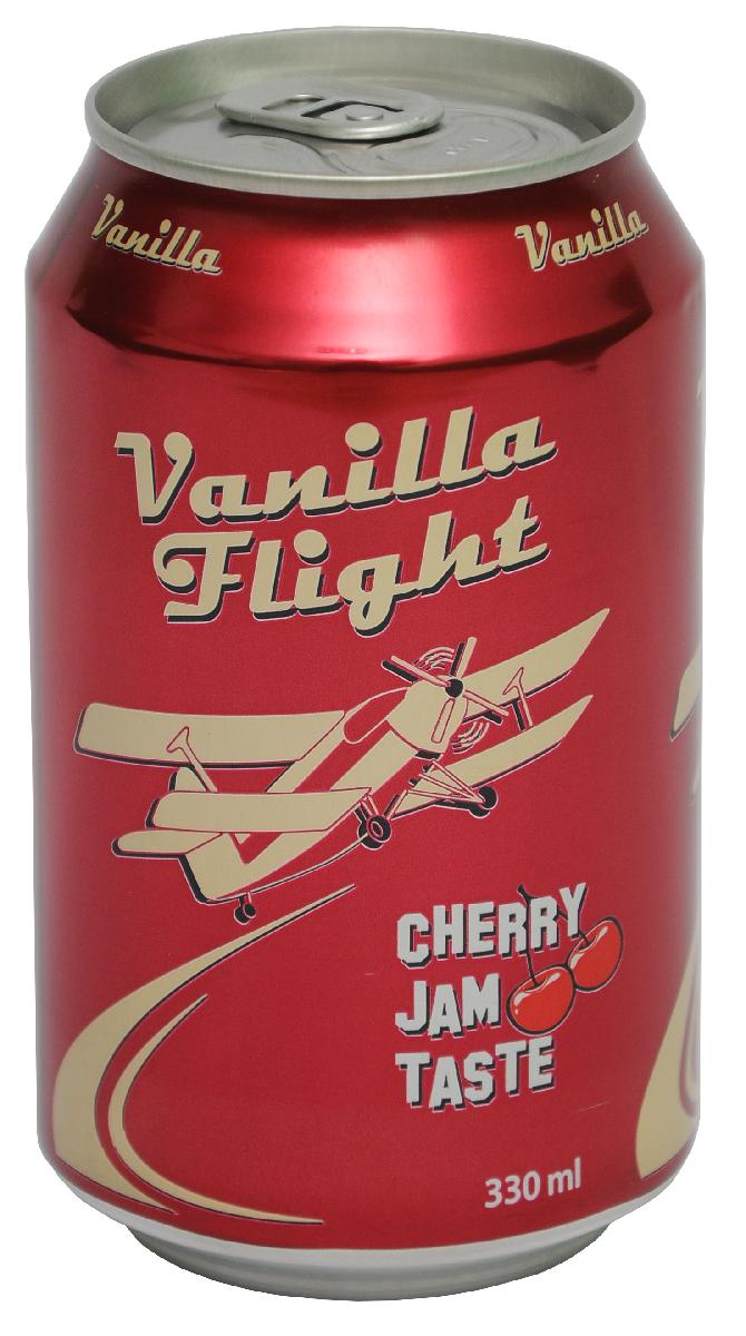 Vanilla Flight Cherry Jam Flavour Напиток безалкогольный сильногазированный, 0,33 л00128900000200