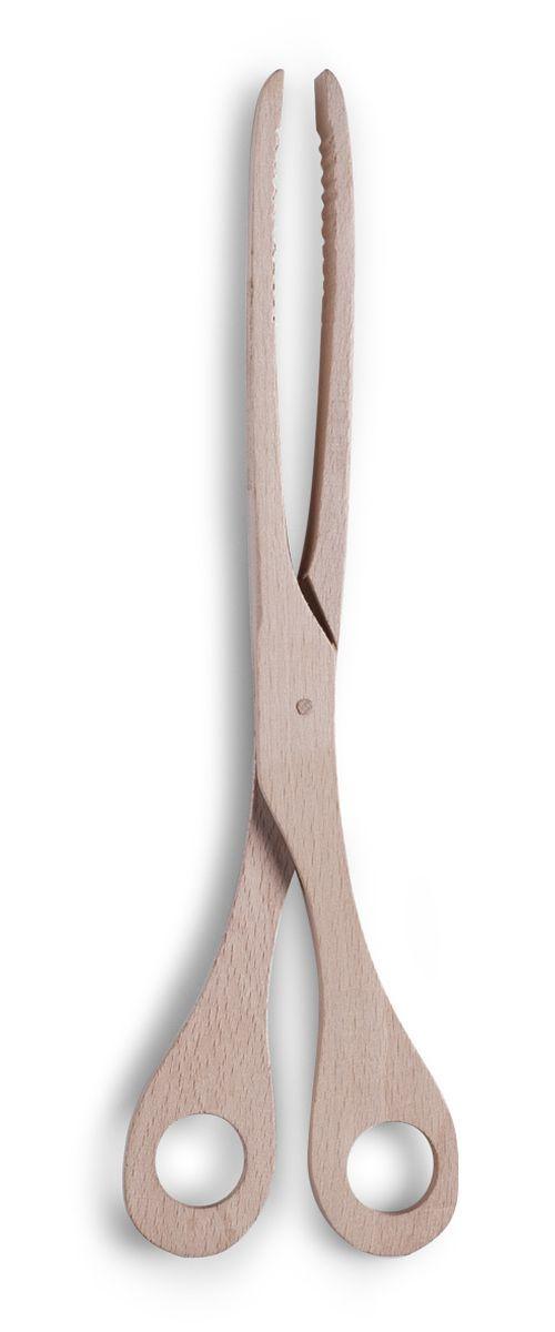 Щипцы кулинарные Zeller, длина 30 см. 2351323513Кулинарные щипцы Zeller, выполненные из дерева в форме ножниц, предназначены для комфортных манипуляций с приготавливаемым продуктом. Такими щипцами удобно переворачивать мясо, тефтели, колбаски, рулеты и другие продукты во время приготовления. Длина щипцов: 30 см.