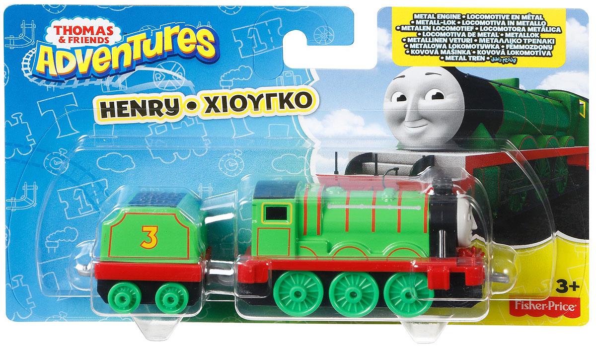 Thomas & Friends Паровоз ГенриDWM30_DXR65Коллекция надежных литых поездов Томас и его друзья с пластиковыми креплениями, чтобы соединять с другими поездами или тендерами из серии Приключения Томаса и его друзей. Идеально для использования с поездами, трассами и наборами Приключения Томаса и его друзей (продаются отдельно, наличие не гарантировано). Помогает развивать крупную моторику и восприятие, развивает воображение.