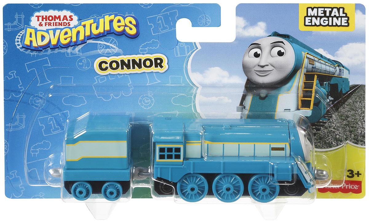 Thomas & Friends Паровоз КоннорDWM30_DXR63Коллекция надежных литых поездов Томас и его друзья с пластиковыми креплениями, чтобы соединять с другими поездами или тендерами из серии Приключения Томаса и его друзей. Идеально для использования с поездами, трассами и наборами Приключения Томаса и его друзей (продаются отдельно, наличие не гарантировано). Помогает развивать крупную моторику и восприятие, развивает воображение.