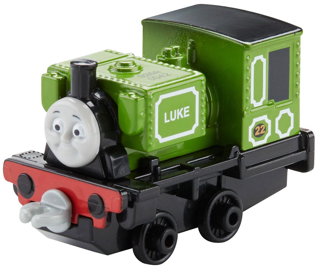 Thomas & Friends Паровозик ЛюкDWM28_DXR87Коллекция надежных литых поездов Томас и его друзья с пластиковыми креплениями, чтобы соединять с другими поездами или тендерами из серии Приключения Томаса и его друзей. Идеально для использования с поездами, трассами и наборами Приключения Томаса и его друзей (продаются отдельно, наличие не гарантировано). Помогает развивать крупную моторику и восприятие, развивает воображение.