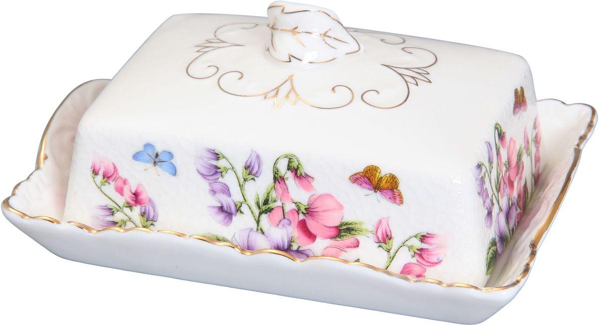 Масленка Elan Gallery Душистый цветок, 16 х 11,5 х 7 см180427