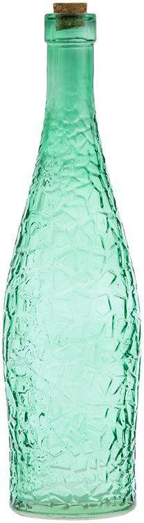 Бутылка для масла и уксуса Elan Gallery, цвет: изумрудный, 700 мл300031Стильная бутылка для жидкостей. Подойдет для хранения масел, соусов или уксуса. Эффектно впишется в любой интерьер. Размер бутылки: 8 х 8 х 30 см. Объем бутылки: 700 мл.