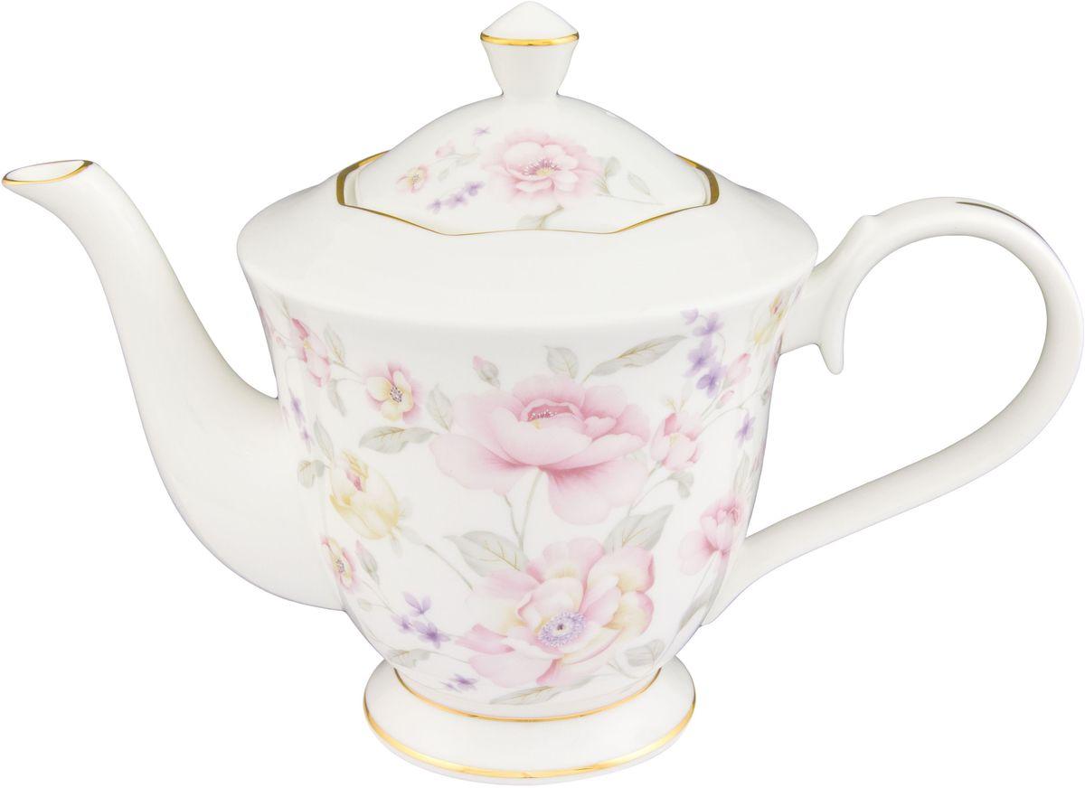 Чайник Elan Gallery Жизель, 1 л530063Изящный вместительный чайник объемом 1 л с удобной ручкой и широким носиком.В основании носика сделаны фильтрующие отверстия от попадания чаинок в чашку. Изделие имеет подарочную упаковку.