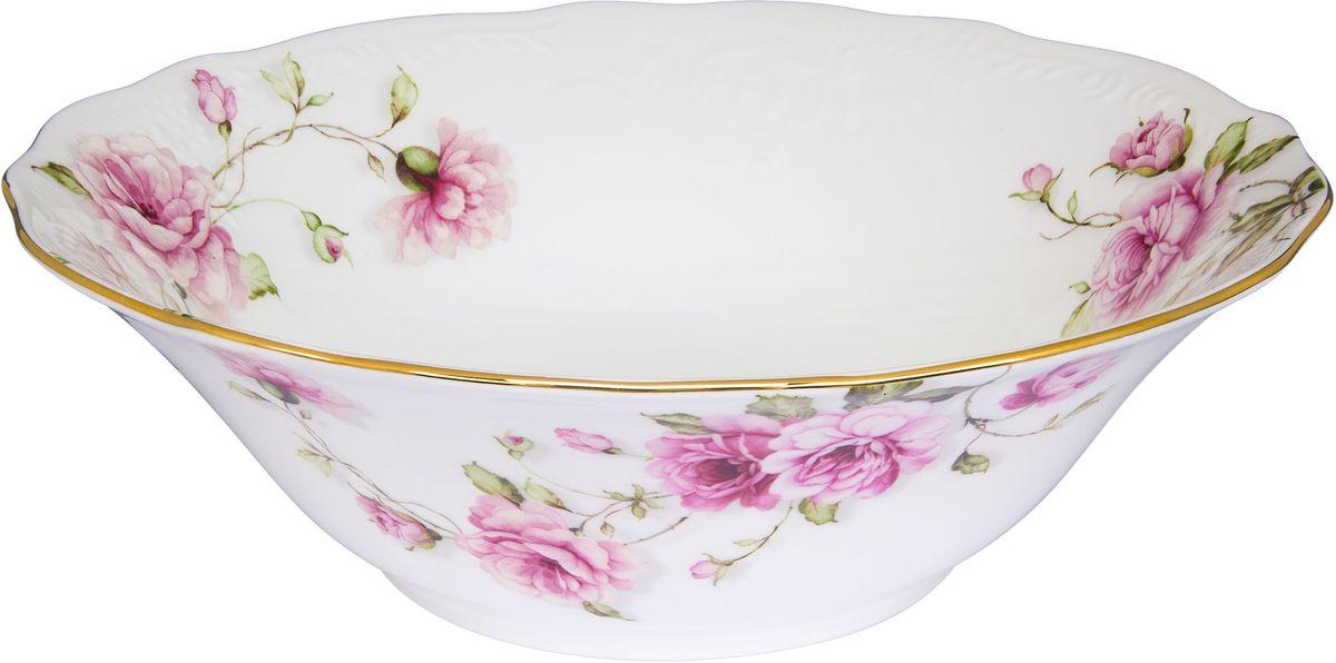 Салатник Elan Gallery Амалия, 1,4 л530079У Вас намечается торжество и нужно накрыть большой стол - используйте компактные и вместительные салатники. Они не займут много места и их можно использовать для разных видов салатов, закусок, сладостей. Салатник станет украшением Ваших любимых блюд. Изделие имеет подарочную упаковку.
