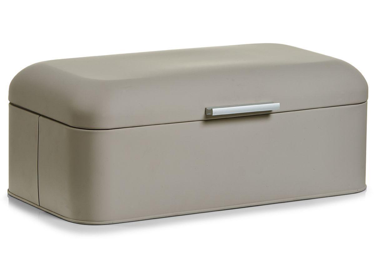 Хлебница Zeller, 42,5 х 23 х 16,5 см27296Хлебница Zeller выполнена из металла с цветным покрытием. На крышке имеется удобная ручка для открывания. Прекрасно подойдет для хранения хлебобулочных изделий. Оригинальный дизайн хлебницы привнесет изюминку в вашу кухню.