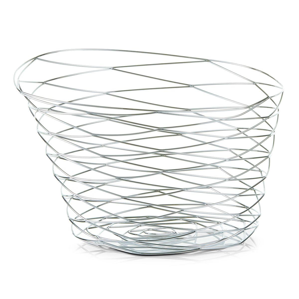 Ваза для фруктов Zeller, 27 х 27 х 19 см27321Ваза для фруктов Zeller изготовлена из высококачественного хромированного металла. Она впечатляет своим дизайном, качеством и оригинальным исполнением. Прекрасный вариант подарка человеку, ценящему изысканные вещи. Такая ваза достойна стать украшением даже самого богатого застолья.