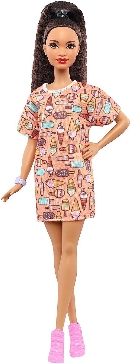 Barbie Кукла Игра с модой Style So SweetFBR37_DVX78Больше разнообразия в 2017 году! Теперь у кукол Barbie из линейки Игра с модой 4 типа телосложения, 9 цветов кожи, 6 цветов глаз, 9 типов макияжа, 11 цветов волос и 10 типов причесок! Каждая кукла имеет свой собственный стиль - от кэжуала до бохо. В набор входит кукла линейки Barbie Игра с модой, одежда и аксессуары. Множество вариантов одежды и обуви помогут создавать собственные истории, развивая воображение. Каждая кукла Barbie Игра с модой уникальна. Собери их всех!